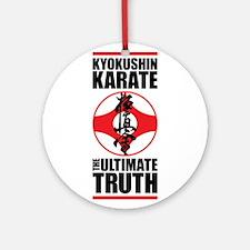 Kyokushin karate 2 Ornament (Round)