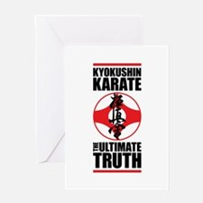 Kyokushin karate 2 Greeting Card