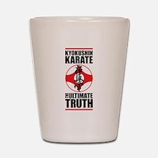 Kyokushin karate 2 Shot Glass