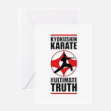 Kyokushin karate 3 Greeting Card