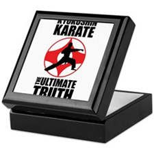 Kyokushin karate 3 Keepsake Box