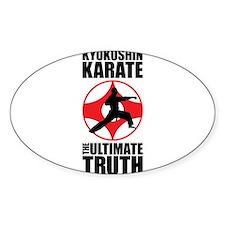 Kyokushin karate 3 Decal