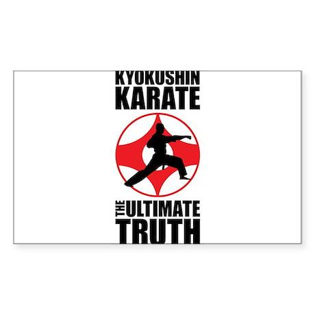Kyokushin karate 3 Sticker
