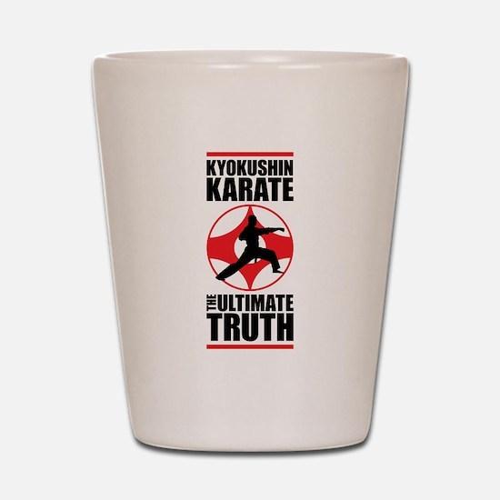 Kyokushin karate 3 Shot Glass