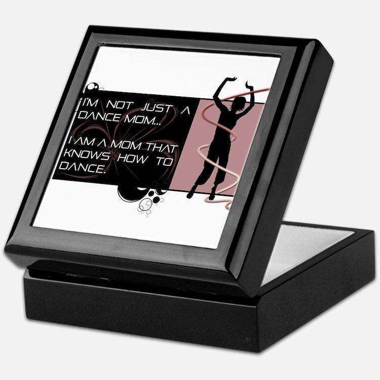 Dance Mom Keepsake Box