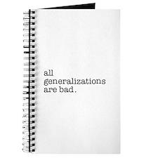 All Generalizations Journal