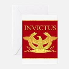Invictus Ancient Gold Greeting Cards (Pk of 10)
