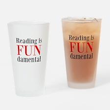 FUNdamental Drinking Glass