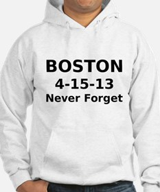 Boston 4-15-13 Never Forget Hoodie