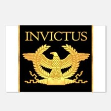 Invictus Gold Eagle on Black Postcards (Package of