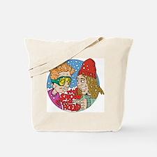 Funny Snow Tote Bag