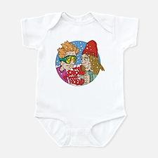 Funny Snow Infant Bodysuit