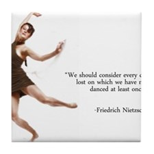 Dance Every Day Tile Coaster