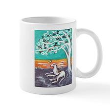 Greyhound spiritual tree Mug