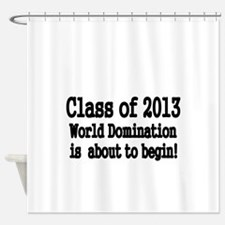 Class of 2013 Shower Curtain