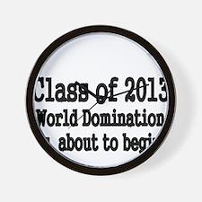 Class of 2013 Wall Clock