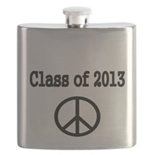 Class of 2013 with peace sign Flask