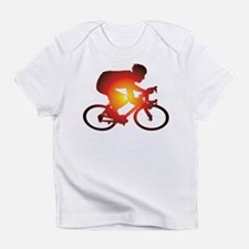 Sunset Bicycle Rider Infant T-Shirt