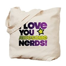 Awesome Nerds Tote Bag