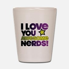 Awesome Nerds Shot Glass