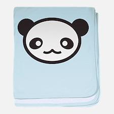 Panda Face baby blanket