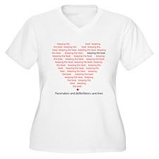 keepingthebeat2 Plus Size T-Shirt