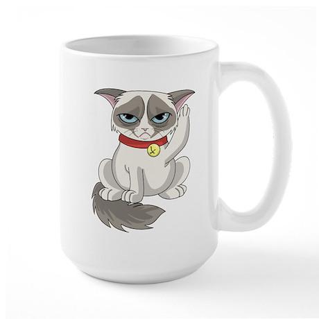 Unlucky Grumpy Cat Mug