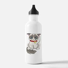 Unlucky Grumpy Cat Water Bottle