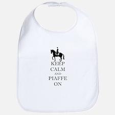 Keep Calm and Piaffe On Dressage Horse Bib