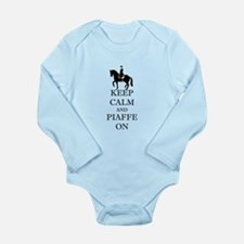 Keep Calm and Piaffe On Dressage Horse Body Suit