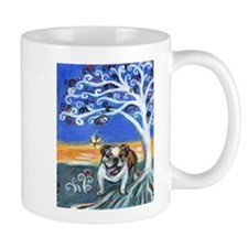 English Bulldog Spiritual tree Mug