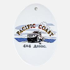 Logo Oval Ornament