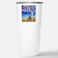Basset Hound Spiritual Tree Travel Mug