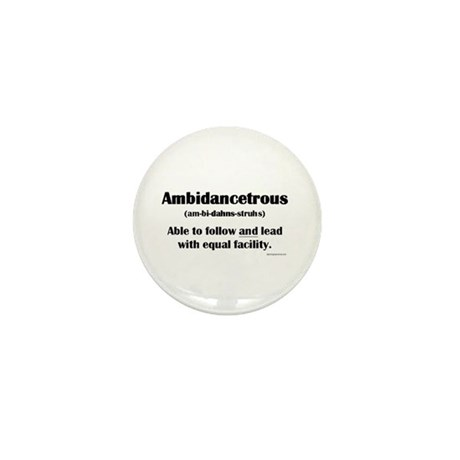 Ambidancetrous Mini Button