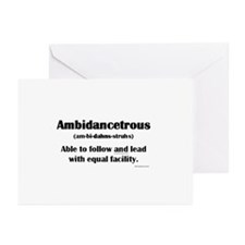 Ambidancetrous Greeting Cards (Pk of 10)