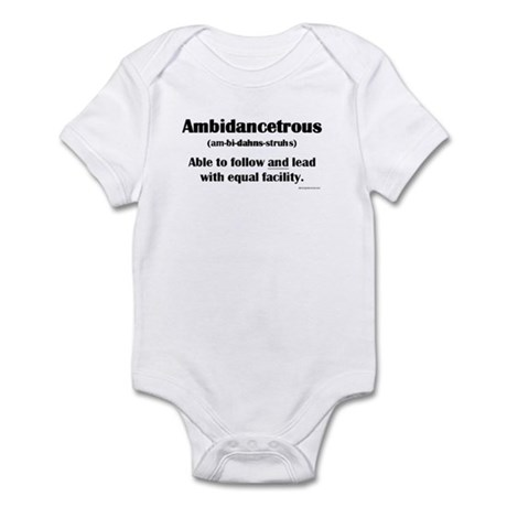 Ambidancetrous Infant Bodysuit