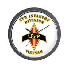 SOF - 5th ID - LRRP - Vietman Wall Clock