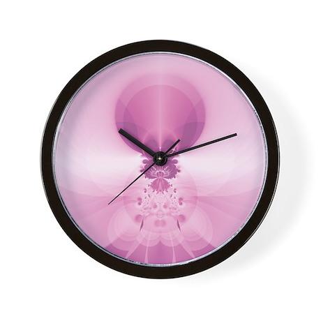 Pink Sunrise Wall Clock