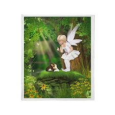 Cute Fairy Throw Blanket