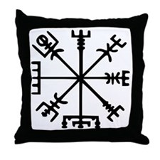 Aegishjàlmr, Helm of Awe Throw Pillow