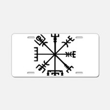 Aegishjàlmr, Helm of Awe Aluminum License Plate