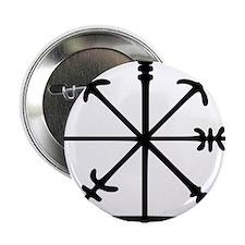 """Aegishjàlmr, Helm of Awe 2.25"""" Button (10 pack)"""