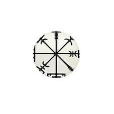Aegishjàlmr, Helm of Awe Mini Button (10 pack)