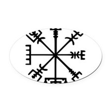 Aegishjàlmr, Helm of Awe Oval Car Magnet
