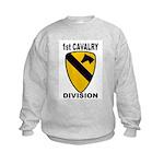 1ST CAVALRY DIVISION Kids Sweatshirt