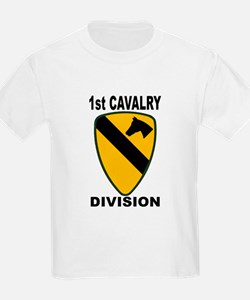 1ST CAVALRY DIVISION Kids T-Shirt