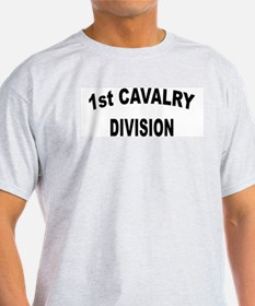 1ST CAVALRY DIVISION Ash Grey T-Shirt