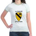1ST CAVALRY DIVISION Jr. Ringer T-Shirt
