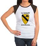 1ST CAVALRY DIVISION Women's Cap Sleeve T-Shirt