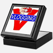 V for Vlogging with Camera Keepsake Box